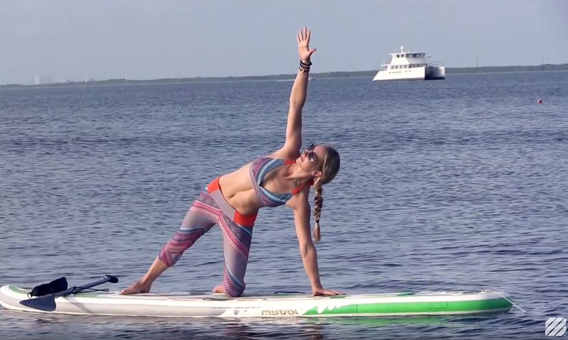 A Beginners Guide to SUP Yoga