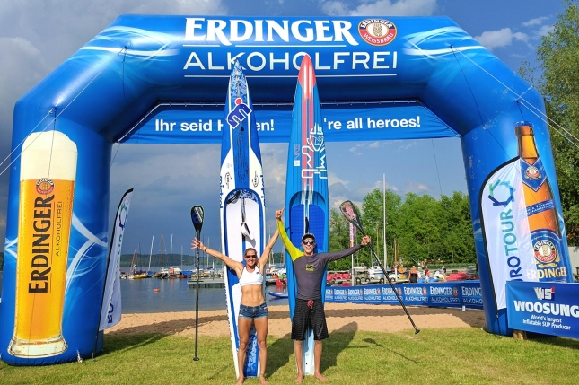 "Seychelle Hattingh Crowned ""Fastest Paddlers on Earth"" at the Lost Mills in Germany"